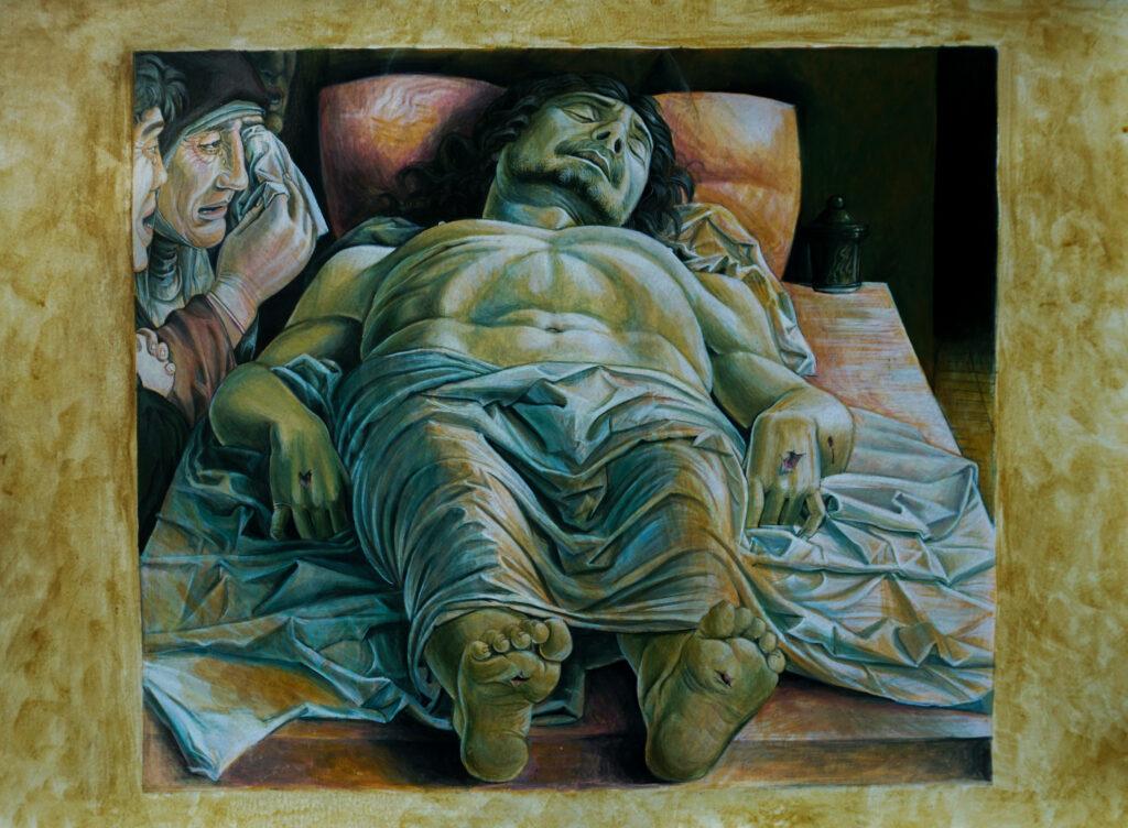 Lamentation over the Dead Christ./ Plângerea lui Hristos