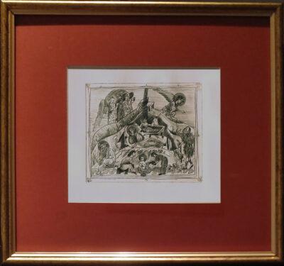 Nașterea Mântuitorului (CRĂCIUNUL) icoană gravată